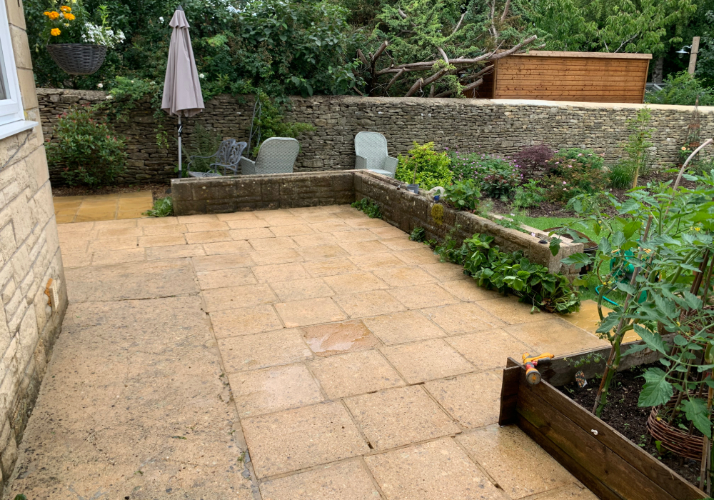 patio cleaning company in tetbury